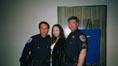 kaila yu with cops